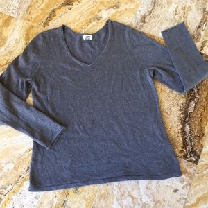 Old Navy soft slouchy gray Oversize sweater